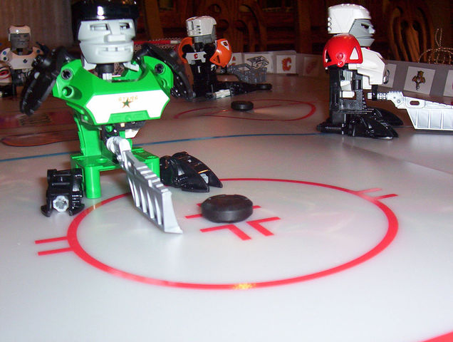Lego Hockey at Slammer Stadium