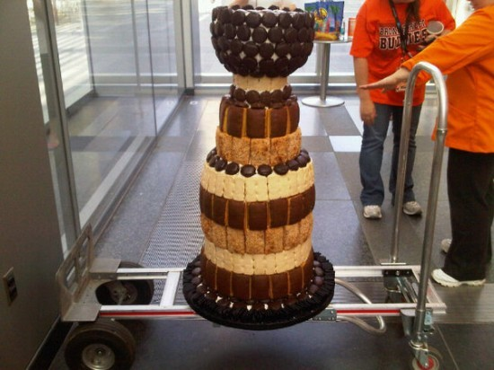 Stanley Cup Replica Made of 1000 Pieces of Sweet Tastykake