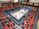 Lego Hockey Arena - Oilers vs Flames - Overhead View