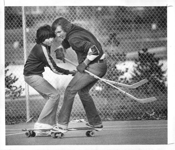 Longboard Hockey - Skateboard Hockey - Denver - Colorado - 1978