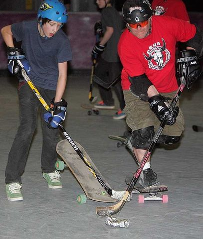 Prairie Skateboard Hockey Association - Game Action - 2011