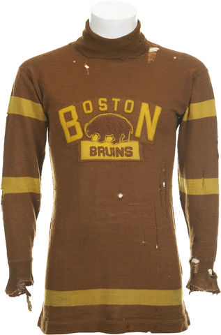 Boston Bruins - Antique Jersey - 1924-25 - Game Worn