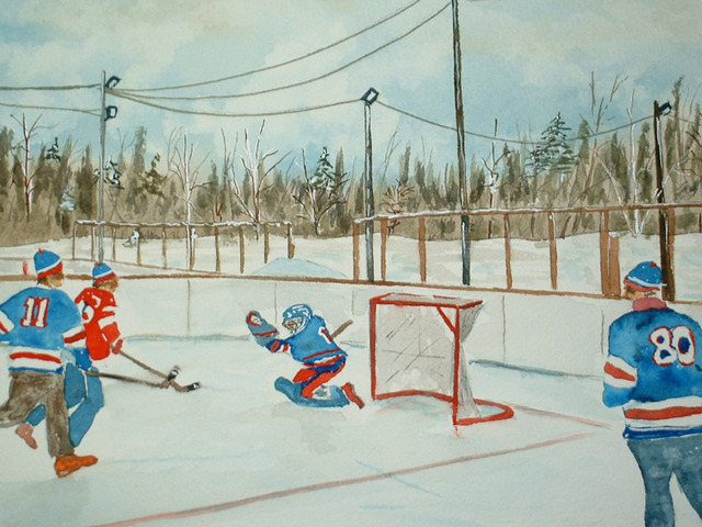 Sponge Hockey - Spongee - Art