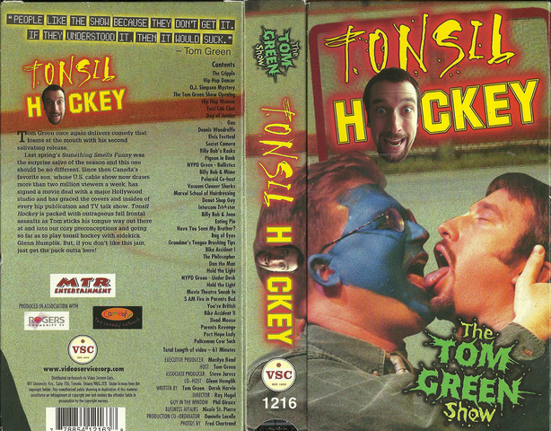 Tonsil Hockey - The Tom Green Show