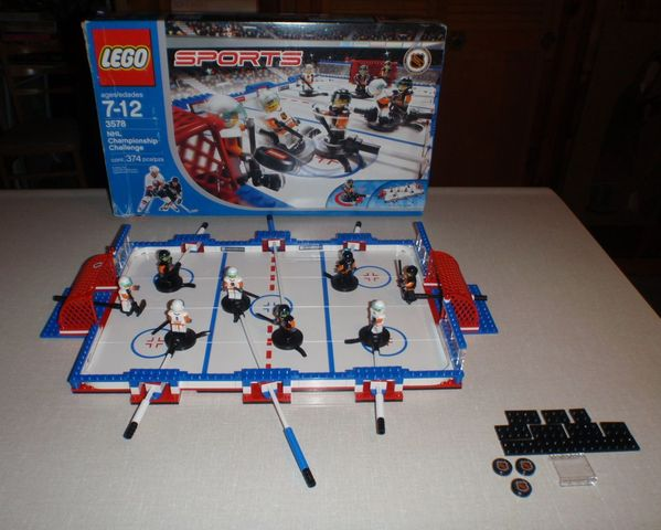 Lego Hockey - Sports Hockey - NHL Championship Challenge Set