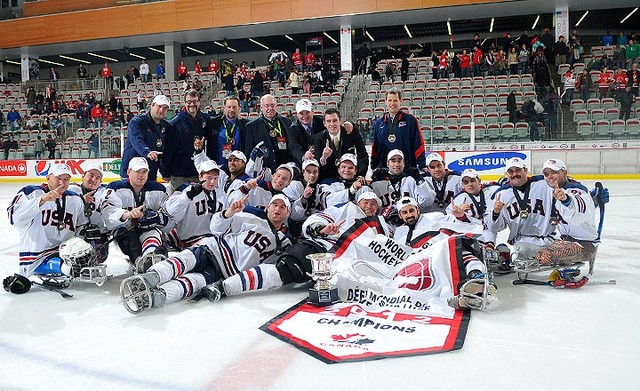 World Sledge Hockey Challenge - Champions - Team USA - 2012