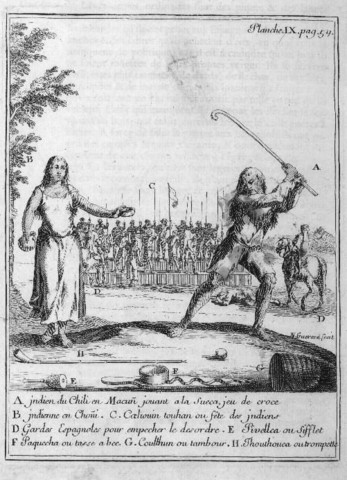 Palin or Crooked Game - Played by Mapuche Indians -1712 to 1714