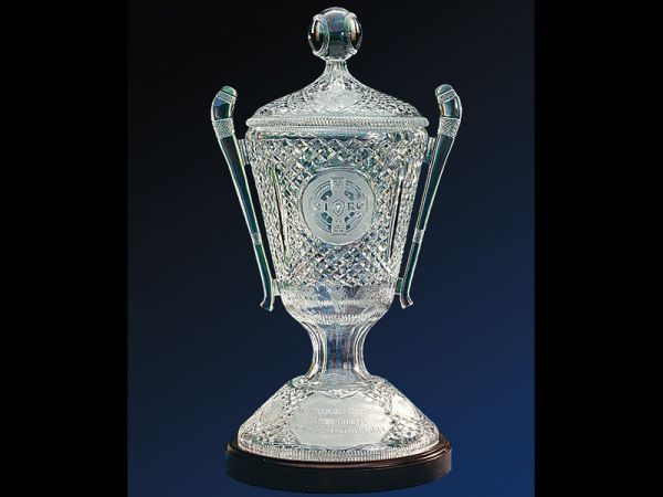 GAA All Ireland Hurling Trophy - Waterford Crystal - Noel Finan