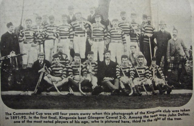 Kingussie Shinty Club - Scotland - 1891 - 1892