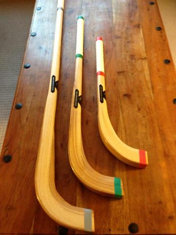 Custom Shinty Sticks - Awm Joinery - Scotland - 2013