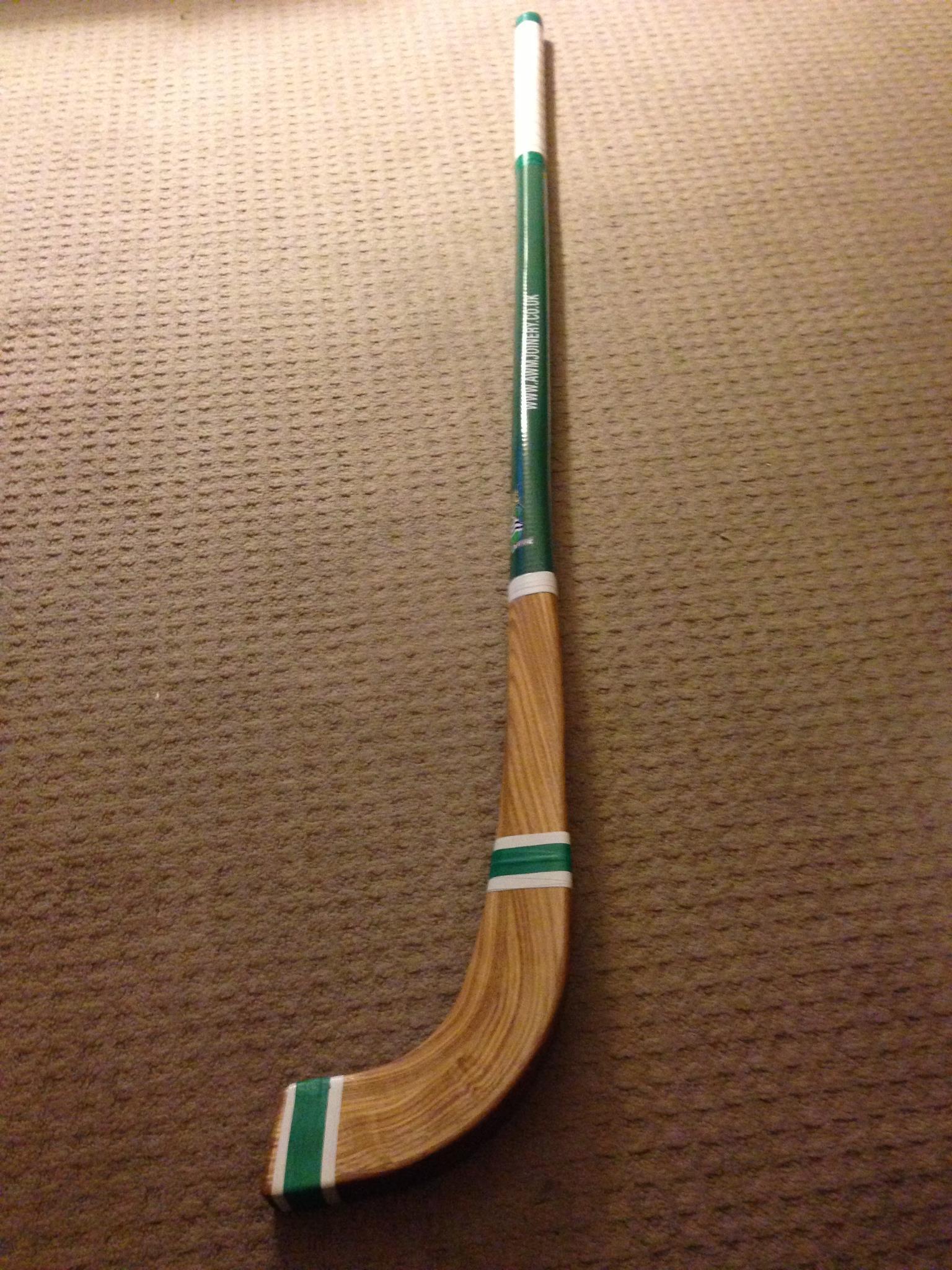 Custom Shinty Stick - Awm Joinery - Scotland - 2013 | HockeyGods