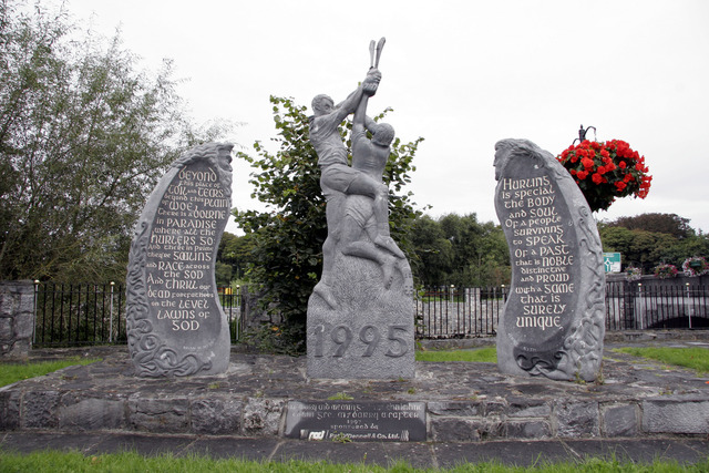Hurling Statue - Memory & Meaning - Ennis - Ireland