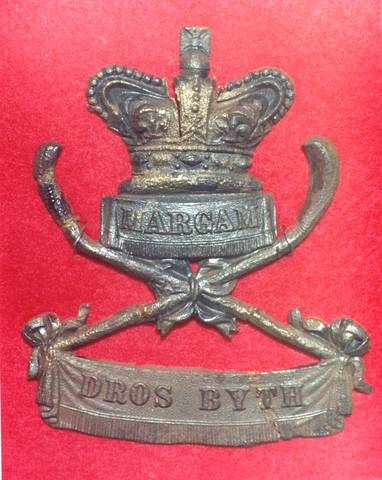First Glamorgan Rifle Volunteers - Military Badge - Bando Sticks