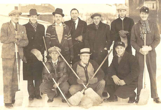 Antique Broomball - Duluth - Minnesota - 1920s