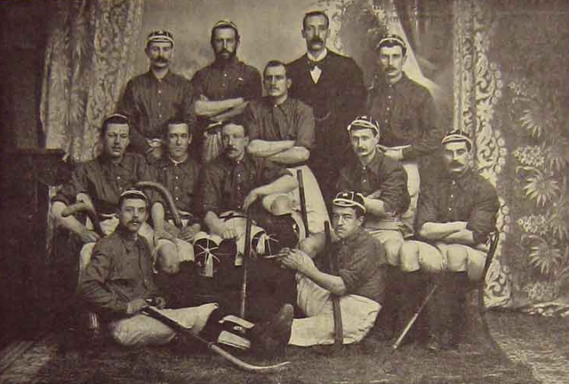 Antique Ireland Field Hockey - Mens Team - 1895