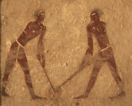 Ancient Hockey - Tomb of Kheti - Beni Hasan - Egypt - 2050 BC