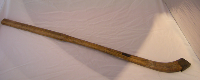 Antique Bandy Stick - Used by Charles G Tebbutt - mid 1800s