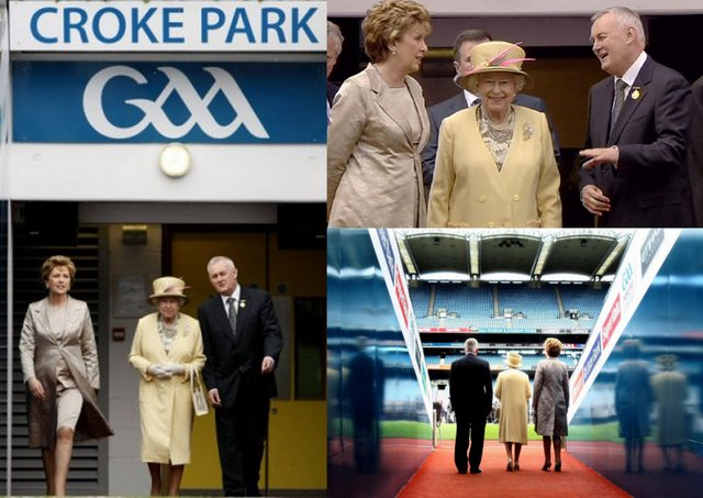 Queen Elizabeth II - Visits Croke Park - Home of GAA - May, 2011