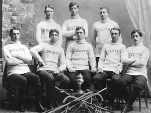 Duluth Ice Polo Team - Minnesota - USA - 1890s