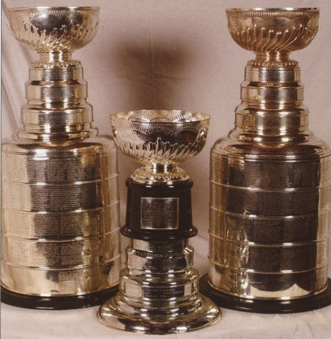 Original Stanley Cup - Presentation and Replica Stanley Cup