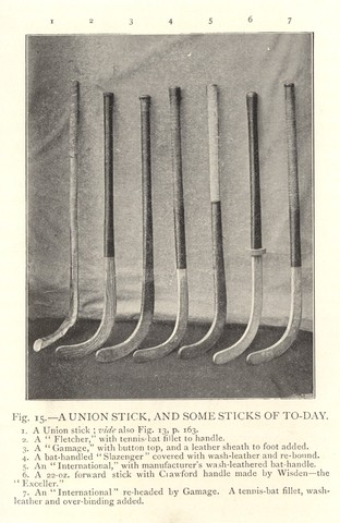 Antique Field Hockey Sticks - Late 1800s