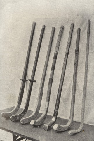 Antique Field Hockey Sticks - Custom Made
