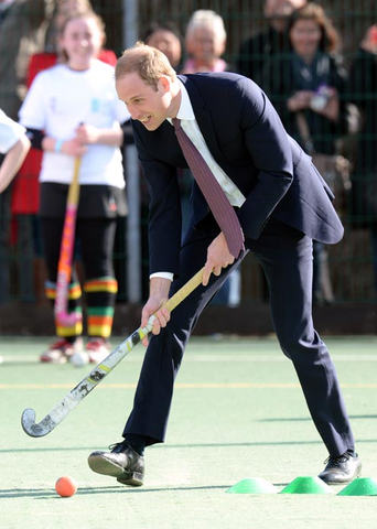 Prince William - The Duke of Cambridge - Field Hockey Dribble