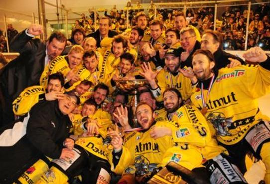 Rouen Les Dragons - France Ice Hockey Magnus Cup Champions 2013