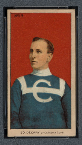 Ed Decary - Imperial Tobacco Card - C56 - #13 - 1910