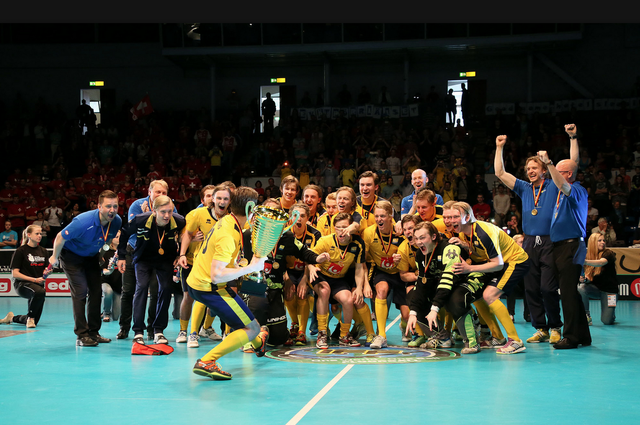 Team Sweden - Men´s U19 World Floorball Champions - 2013