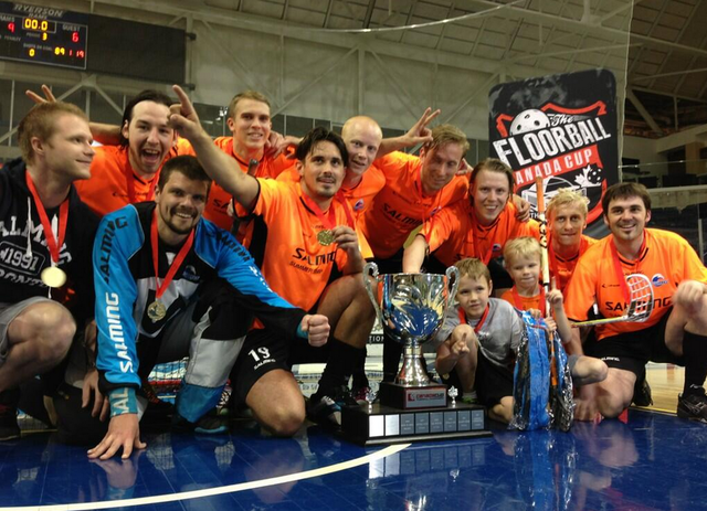 Lindås Waves IBK - Canada Cup Floorball Champions - 2013
