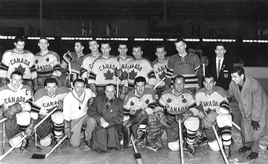 belleville mcfarlands 1959 world ice hockey champions
