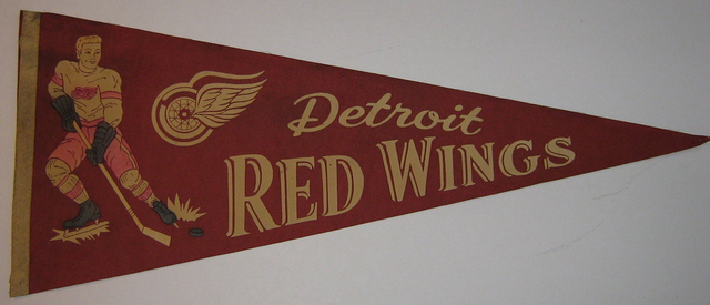 Detroit Red Wings - Pennant - 1950s