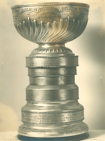 The Real Stanley Cup  - Dominion Hockey Challenge Cup - 1930