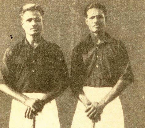 Dhyan Chand & Roop Singh - India Field Hockey Legends