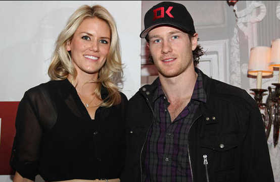 Duncan Keith with his wife Kelly-Rae Keith - 2011 - Keith Relief