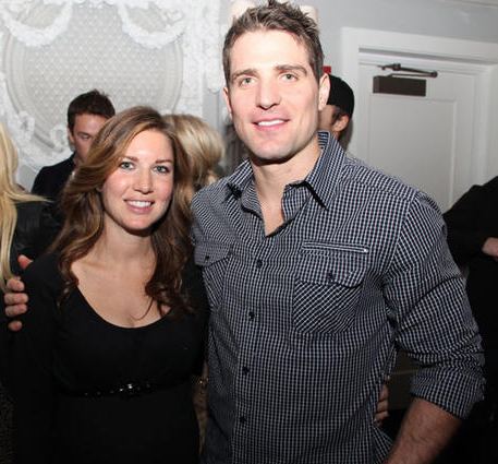 Patrick Sharp with beautiful, cute, Wife Abigail Banever