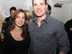 Patrick Sharp with his wife Abby Sharp at Keith Relief - 2011