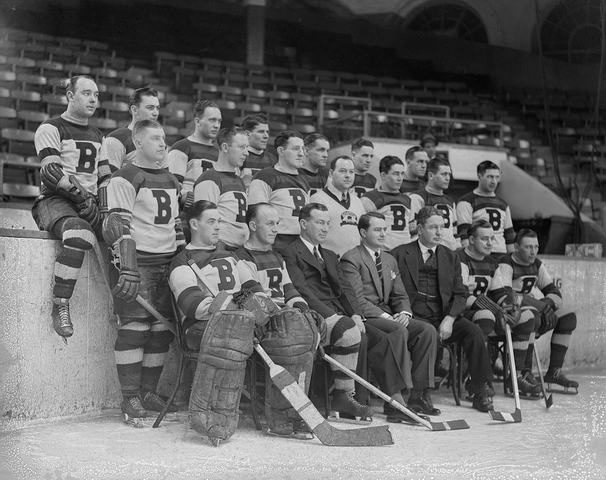 Boston Bruins - Team Photo - 1934