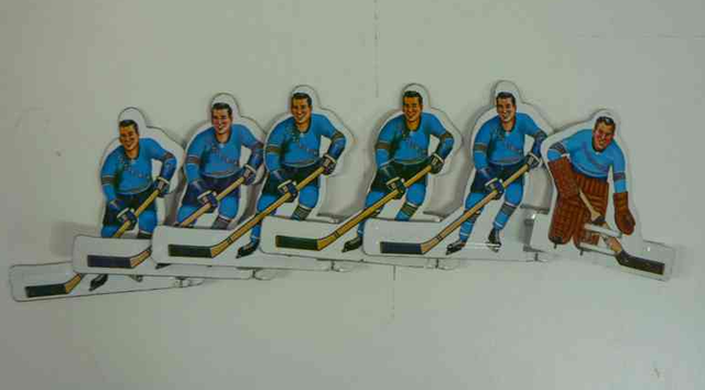 Pittsburgh Penguins - Table Hockey Players - 1960s