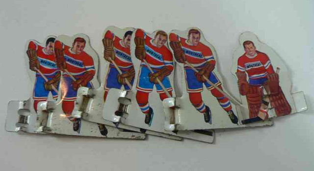 Montreal Canadiens - Table Hockey Players - 1960s