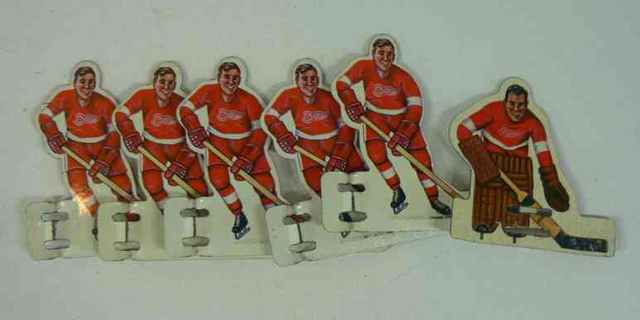 Detroit Red Wings - Table Hockey Players - 1960s