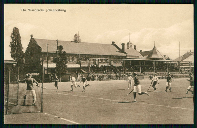 Antique Field Hockey - Johannesburg South Africa - The Wanderers