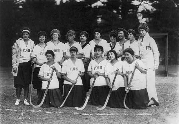 Vassar College - Women's Field Hockey Team - 1915