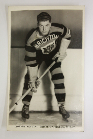 Joffre Seguin - Brighton Tigers - English National League - 1938