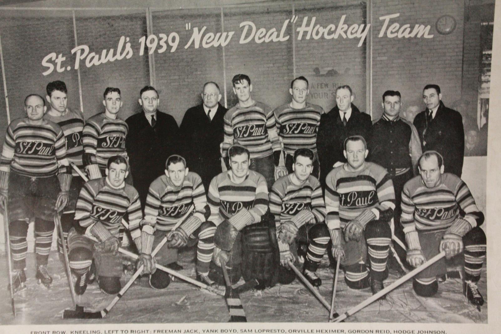 Image result for st paul saints hockey 1939
