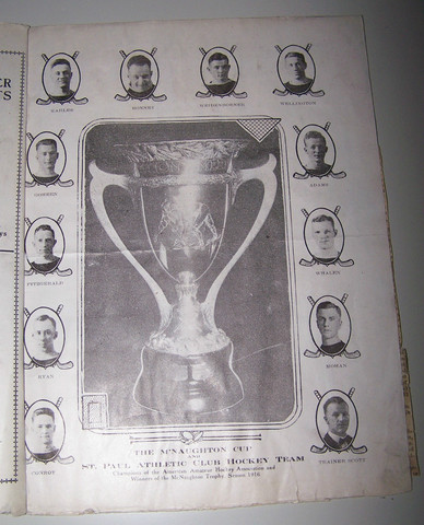Saint Paul Athletic Club - The McNaughton Cup Champions - 1916