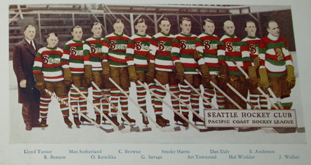 Seattle Eskimos - Seattle Hockey Club - PCHL - 1929