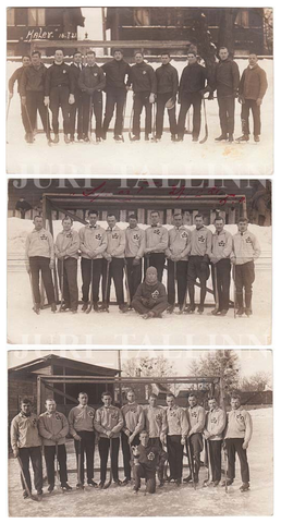 Estonia Bandy Teams - jääpall & jéglabda - 1915 - 1921