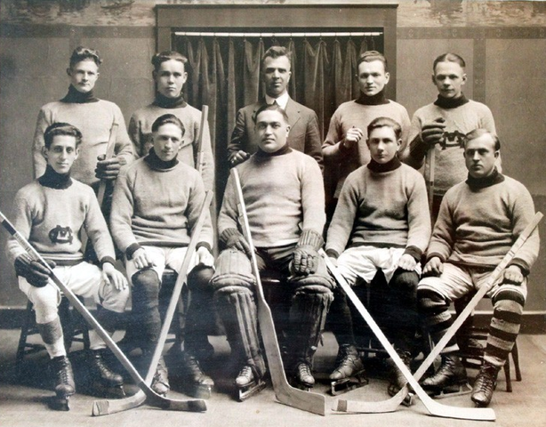 Morlock Bros. Hockey Team - Hanover Town League - 1923
